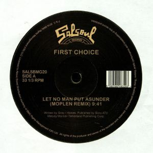 FIRST CHOICE/CANDIDO - Let No Man Put Asunder (Moplen remix) (reissue)