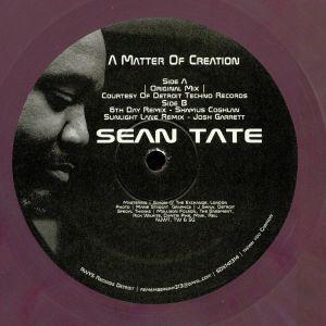 TATE, Sean - A Matter Of Creation