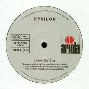 EPSILON - Leave The City (reissue)