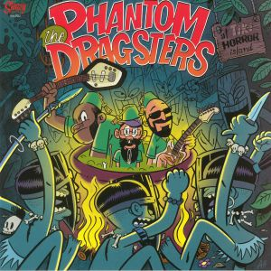 PHANTOM DRAGSTERS, The - At Tiki Horror Island