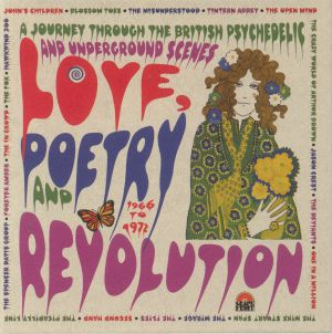 VARIOUS - Love Poetry & Revolution: A Journey Through The British Psychedelic & Underground Scenes 1966-72