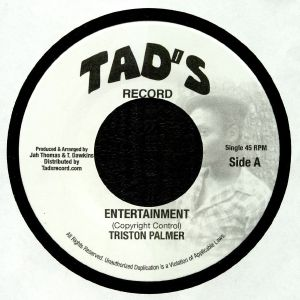 PALMER, Triston - Entertainment