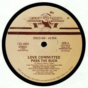 LOVE COMMITTEE - Pass The Buck