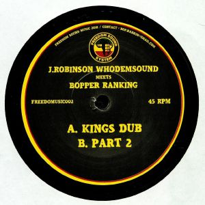 ROBINSON, J/WHODEMSOUND meets BOPPER RANKING - Kings Dub