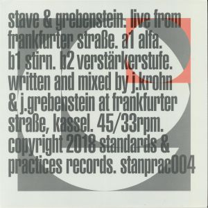 STAVE/GREBENSTEIN - Live From Frankfurter Strasse