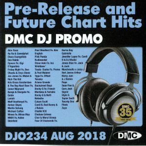 VARIOUS - DJ Promo August 2018: Pre Release & Future Chart Hits (Strictly DJ Only)
