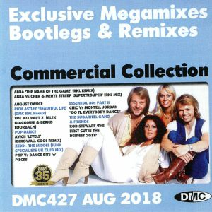VARIOUS - DMC Commercial Collection August 2018: Exclusive Megamixes Bootlegs & Remixes (Strictly DJ Only)