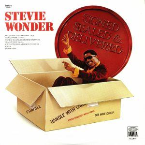 WONDER, Stevie - Signed Sealed & Delivered (reissue)