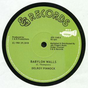PINNOCK, Delroy/DICKEY DREAD/MIKEY RANKS - Babylon Walls