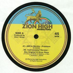 PRESSURE/ABA ARIGINAL/DREW KEYS/BARBARA NAPS/ZION I KINGS - Jah Is Worthy