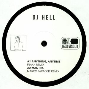 DJ HELL - Anything Anytime (remixes)