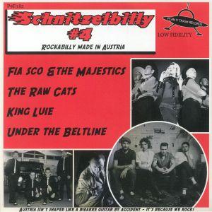 FIA SCO/THE MAJESTICS/KING LUIE/UNDER THE BELTLINE/THE RAW CATS - Schnitzelbilly #4: Rockabilly Made In Austria