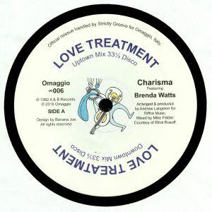 CHARISMA feat BRENDA WATTS - Love Treatment (reissue)