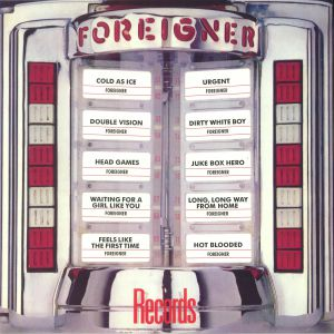 FOREIGNER - Records (reissue)