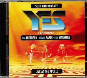 YES feat JON ANDERSON/TREVOR RABIN/RICK WAKEMAN - Live At The Apollo: 50th Anniversary
