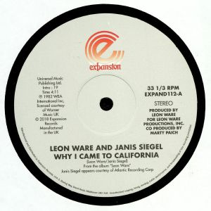 WARE, Leon/JANIS SIEGEL - Why I Came To California