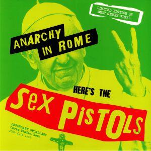 SEX PISTOLS - Anarchy In Rome: Legendary Broadcast Curva Stadio Rome 10th July 1996