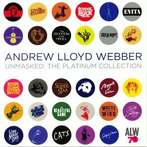 WEBBER, Andrew Lloyd - Unmasked: The Platinum Collection (Soundtrack) (half speed remastered)