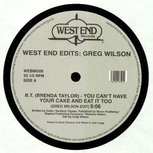 BT aka BRENDA TAYLOR/FORRRCE/RAW SILK/SHIRLEY LITES - West End Edits: Greg Wilson