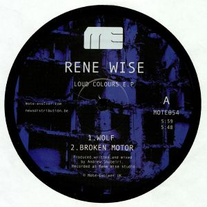 WISE, Rene - Loud Colours EP