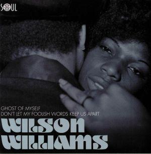 WILLIAMS, Wilson - Ghost Of Myself