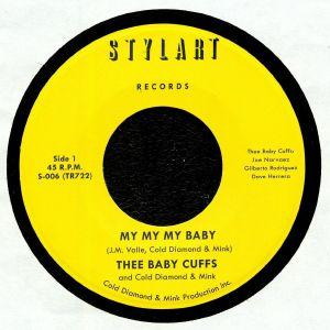 THEE BABY CUFFS/COLD DIAMOND & MINK - My My My Baby