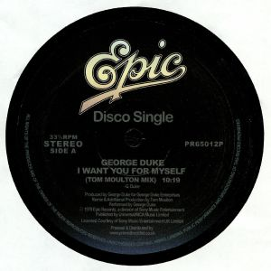 DUKE, George - I Want You For Myself (reissue)