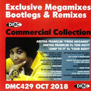 VARIOUS - DMC Commercial Collection October 2018: Exclusive Megamixes Bootlegs & Remixes (Strictly DJ Only)