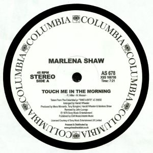 SHAW, Marlena - Touch Me In The Morning