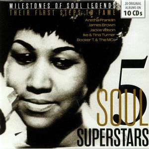 VARIOUS - 5 Soul Superstars: Their First Steps To Fame