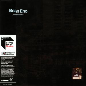 ENO, Brian - Discreet Music (half speed remastered)