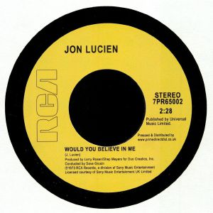 LUCIEN, Jon - Would You Believe In Me