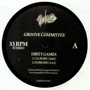 GROOVE COMMITTEE - Dirty Games