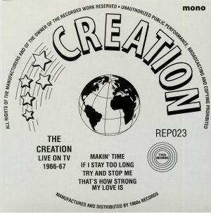 CREATION, The - Live On TV 1966-67