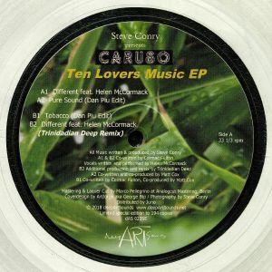 CARUSO - Ten Lovers Music EP (Dan Piu, Trinidadian Deep mixes)