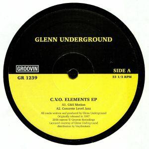 UNDERGROUND, Glenn - CVO Elements EP