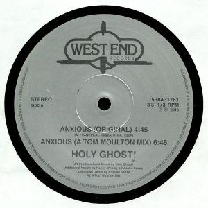 HOLY GHOST/CHUCK DAVIS ORCHESTRA - Anxious/Spirit Of Sunshine