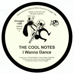 COOL NOTES, The - I Wanna Dance (reissue)