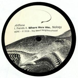 ANTHONE - Where Were We