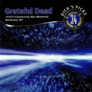 GRATEFUL DEAD - Dick's Picks 34: 11/5/77 Community War Memorial Rochester NY