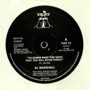 MARSHALL, Al - I'm Gonna Make This Night That You Will Never Forget