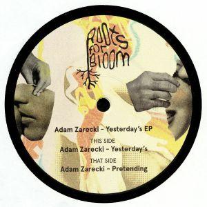 ZARECKI, Adam - Yesterday's EP