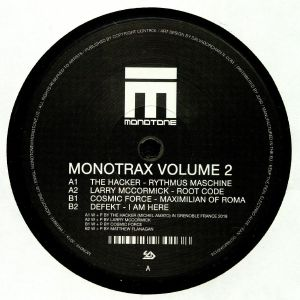 HACKER, The/LARRY McCORMICK/COSMIC FORCE/DEFEKT - MonoTrax Volume 2