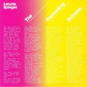 SPIEGEL, Laurie - The Expanding Universe (reissue)