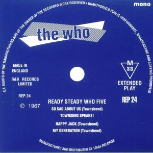 WHO, The - Ready Steady Who Five (mono)