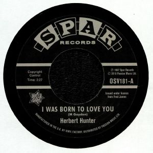 HUNTER, Herbert/THE JADES - I Was Born To Love You