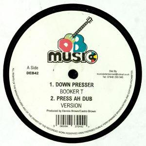 BOOKER T/DAVE ROBINSON/VIN GORDON - Down Presser