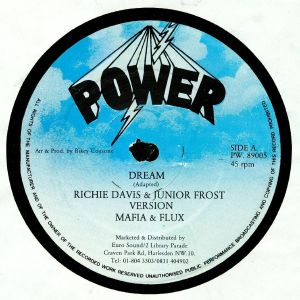 DAVIS, Richie/JUNIOR FROST/MAFIA & FLUX/CRUCIAL ROBBIE - Dream