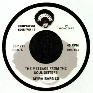 BARNES, Myra/BARBARA GWEN - The Message From The Soul Sisters