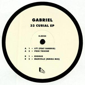 GABRIEL - 33 Curial EP